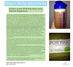 Diaper Derby Adventures
